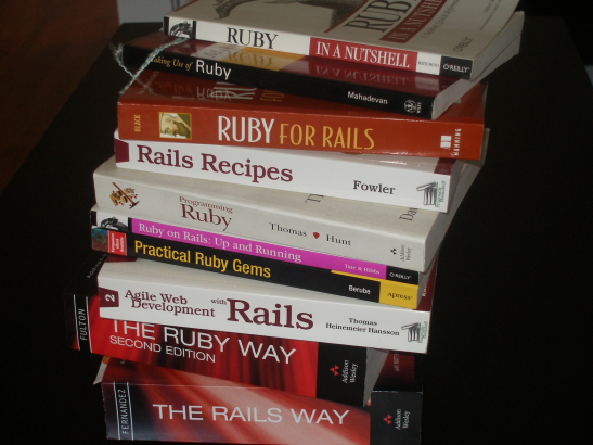 Ruby and Rails Books