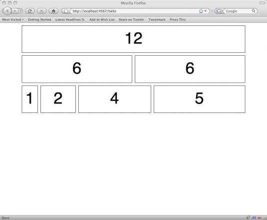 Basic Grid Layout