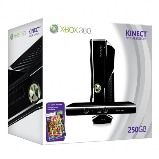Xbox 360 250 GB Kinect Bundle