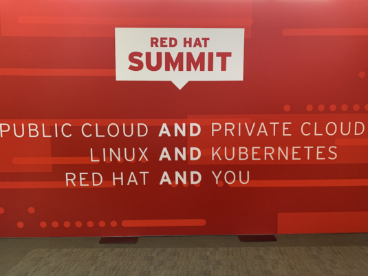 Red Hat Summit 2019