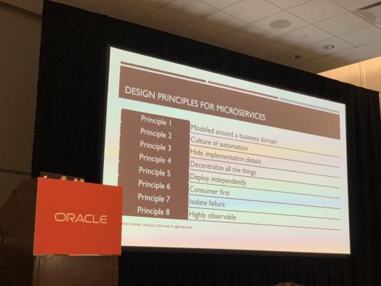 Design Principles for Microservices
